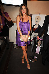 LISA SNOWDON at the Inspiration Awards For Women held at Cadogan Hall, Sloane Terrace, London on 6th October 2010.