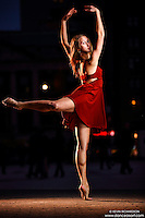 Union Square: Dance As Art the New York Photography Project with dancer Aly McKenzie
