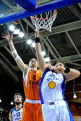 13-09-2008 BASKETBAL: NEDERLAND - IJSLAND: ALMERE<br /> De Nederlandse basketballers hebben hun tweede zege geboekt voor het ek van 2009 in de B-divisie. Oranje versloeg IJsland in almere met 84-68 / Peter van Paassen<br /> ©2008-WWW.FOTOHOOGENDOORN.NL
