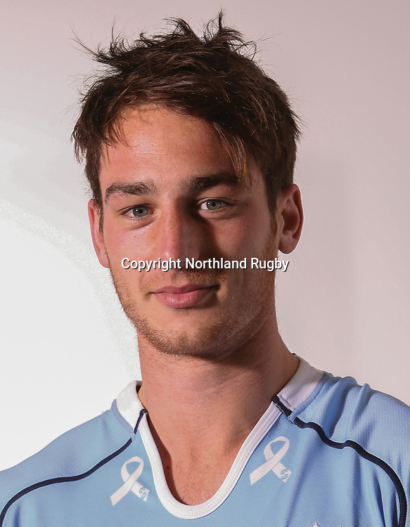 Tyler Lansdowne. Headshots of the Northland ITM Cup rugby union team for the 2015 season.