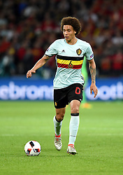 Axel Witsel of Belgium  - Mandatory by-line: Joe Meredith/JMP - 01/07/2016 - FOOTBALL - Stade Pierre Mauroy - Lille, France - Wales v Belgium - UEFA European Championship quarter final