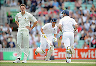 Morne Morkel as Strauss and Cook pile on the runs on the final day of the fourth Test at the Oval on the 11th of August 2008..England v South Africa.Photo by Philip Brown.www.philipbrownphotos.com