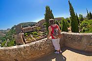 Alberto Carrera, Alcazaba, La Alhambra, UNESCO World Heritage Site, Granada, Andalucía, Spain, Europe