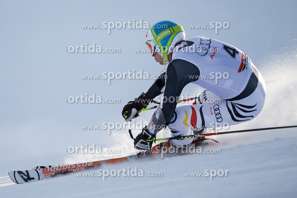 19.10.2012, Rettenbachferner, Soelden, AUT, DSV, Training, im Bild Stefan Luitz (GER) // Stefan Luitz of Germany during a practice session of the German Ski Team 'DSV' at Rettenbachferner in Soelden, Austria on 2012/10/19. EXPA Pictures © 2012, PhotoCredit: EXPA/ J. Groder