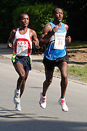 Middletown, NY - Runners compete in the Classic 10K road race on June 8, 2008.