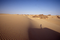 the Sahara in Algeria
