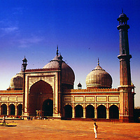 Jama Masjid, Friday Mosque, Old Delhi, India, photograph photography