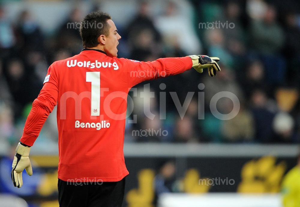 FUSSBALL   1. BUNDESLIGA   SAISON 2008/2009   14. SPIELTAG VfL Wolfsburg - VfB Stuttgart          22.11.2008 Torwart Diego BENAGLIO (VfL Wolfsburg)