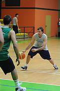DOMEGGE DI CADORE 16 MARZO 2009<br /> BASKET NAZIONALE ITALIANA BASKET MASCHILE<br /> NELLA FOTO: CAVALIERO<br /> FOTO CIAMILLO