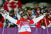 """Alex Bilodeau (CAN), <br /> FEBRUARY 10, 2014 - Freestyle Skiing : <br /> Men's Moguls Final <br /> at """"ROSA KHUTOR"""" Extreme Park <br /> during the Sochi 2014 Olympic Winter Games in Sochi, Russia. <br /> (Photo by YUTAKA/AFLO SPORT) [1040]"""