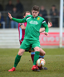 ELLIOT BAILEY  HITCHIN TOWN, Chesham United v Hitchin Town Evostik Southern Premier Division, Saturday 10th March 2018, Score 0-0
