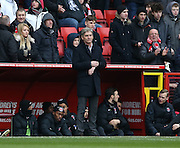 Charlton Athletic interim head coach Jose Riga during the Sky Bet Championship match between Charlton Athletic and Reading at The Valley, London, England on 27 February 2016.
