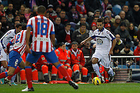 09.12.2012 SPAIN -  La Liga 12/13 Matchday 15th  match played between Atletico de Madrid vs R.C. Deportivo de la Courna (6-0) at Vicente Calderon stadium. The picture show  Bruno Gama (Player of R.C. Deportivo)