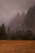 Cathedral Spires, Yosemite National Park<br /> This image is available through Getty Images. Go to http://www.gettyimages.ca/Search/AdvancedSearch.aspx and enter my name, Mark Daly, into the Search box. Make sure you select &quot;Photographers&quot; from the drop down menu.