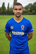 Kwesi Appiah during the AFC Wimbledon Photocall 2017 at the Kings Sports Ground, New Malden, United Kingdom on 1 August 2017. Photo by Shane Healey.