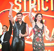 West End Live 2018 <br /> Trafalgar Square, London, Great Britain <br /> 16th June 2018 <br /> <br /> Excerpts from West End musicals perform live on stage in Trafalgar Square, London <br /> <br /> Will Young &amp; Zizi Strallen <br /> In Strictly Ballroom <br /> <br /> Photograph by Elliott Franks