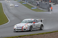 2009 Porsche Carrera Cup Great Britain.  Donington Park, Derby, United Kingdom. 16th-17th May 2009.  .(61) - Aron Steele - Porsche Cars GB .World Copyright: Peter Taylor/PSP