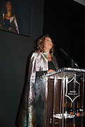DAME ZAHA HADID named Veuve Clicquot businesswoman of the year- The Veuve Clicquot Business Woman Of The Year Award, celebrating women's excellence in business and commitment to sustainability. Claridge's, Brook Street, London, 22 April 2013