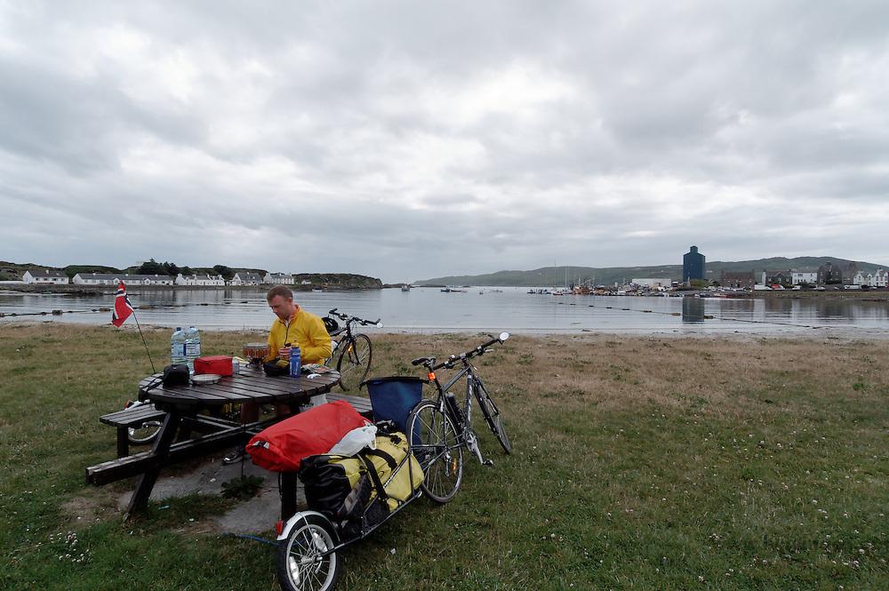 Biking in Scotland - Sykle i Skottland
