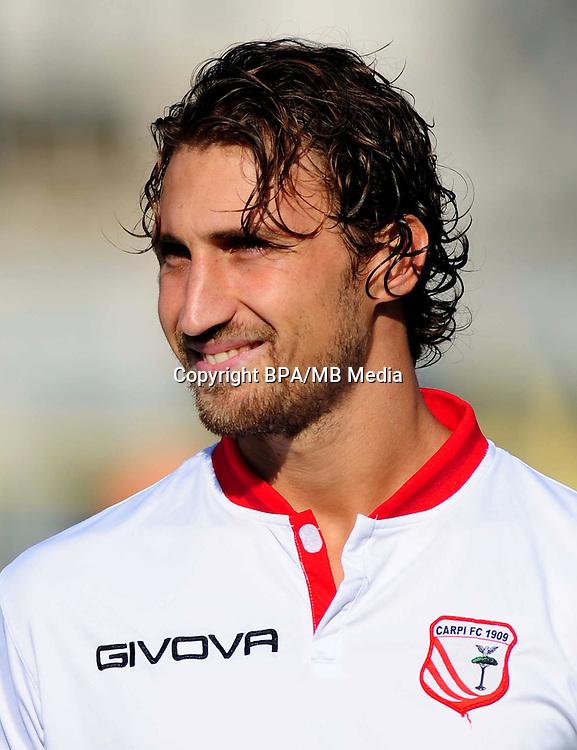 Italian League Serie B -2016-2017 / <br /> ( Carpi FC 1909 ) - <br /> Lorenzo Lollo