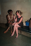 FLORENCE NOSEGBE; JULIE WILKINSON; , Tate Summer party. Tate Britian, Millbank. London. 28 May 2012