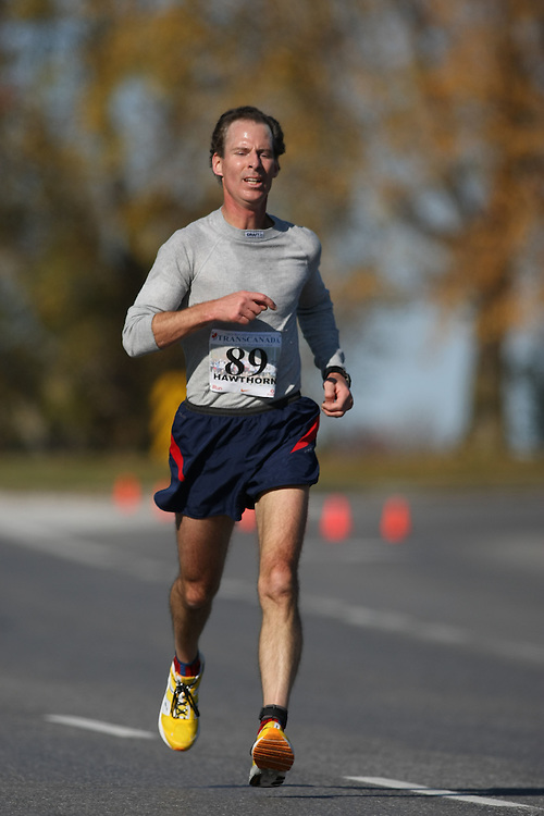 (Ottawa, ON---18 October 2008) KEN HAWTHORN competes in the 2008 TransCanada 10km Canadian Road Race Championships. Photograph copyright Sean Burges/Mundo Sport Images (www.msievents.com).