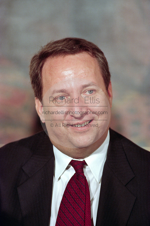 Economist Larry Summers during an event at the White House January 11, 1999 in Washington, DC.