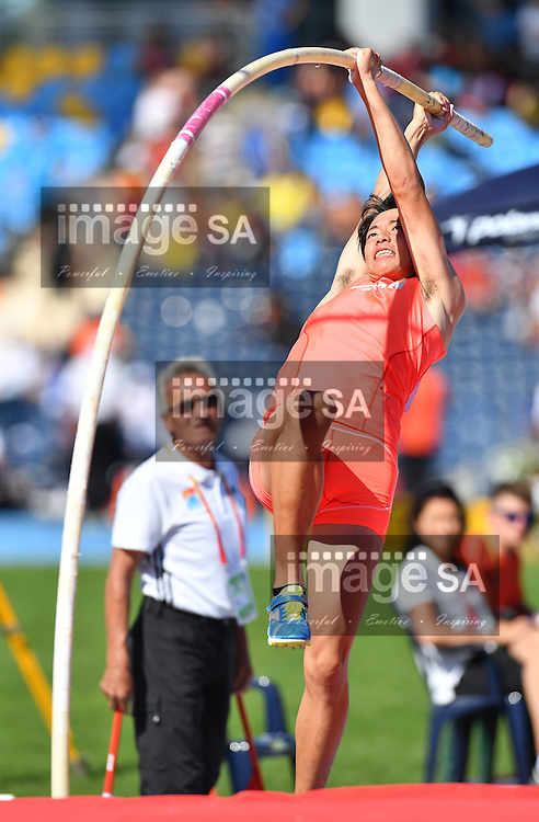 BYDGOSZCZ, POLAND - JULY 21:  during day 3 of the IAAF World Junior Championships at Zawisza Stadium on July 21, 2016 in Bydgoszcz, Poland. (Photo by Roger Sedres/Gallo Images)