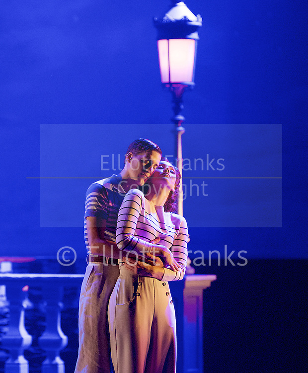 Matthew Bourne's <br /> The Red Shoes <br /> at Sadler's Wells, London, Great Britain <br /> press photocall <br /> 9th December 2016 <br /> <br /> Monte Carlo duets :<br /> <br /> Cordelia Braithwaite as Vicky and Dominic North as Julian <br /> <br /> <br /> <br /> <br /> Photograph by Elliott Franks <br /> Image licensed to Elliott Franks Photography Services