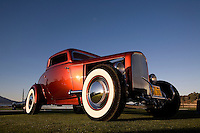 PEBBLE BEACH, CA - AUGUST 19: The 1932 Ford Deuce Coupe at the 2007 Pebble Beach Concours d'Elegance on August 19, 2007 in Pebble Beach, California.  (Photo by David Paul Morris)