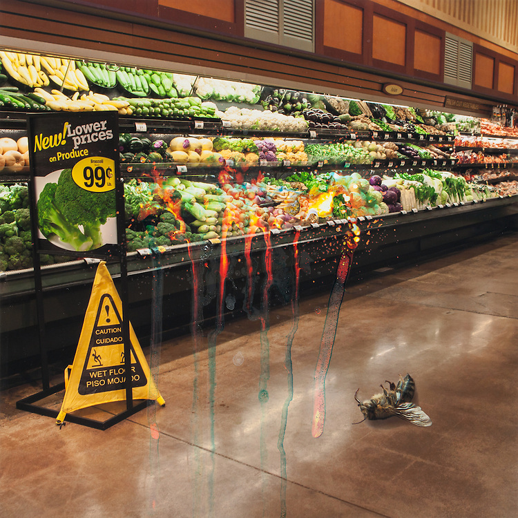 Produce Section - Inevitable Collapse - Distressed