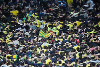 Supporters Nantes - 03.05.2015 - Nantes / Paris Saint Germain - 35eme journee de Ligue 1<br /> Photo : Vincent Michel / Icon Sport