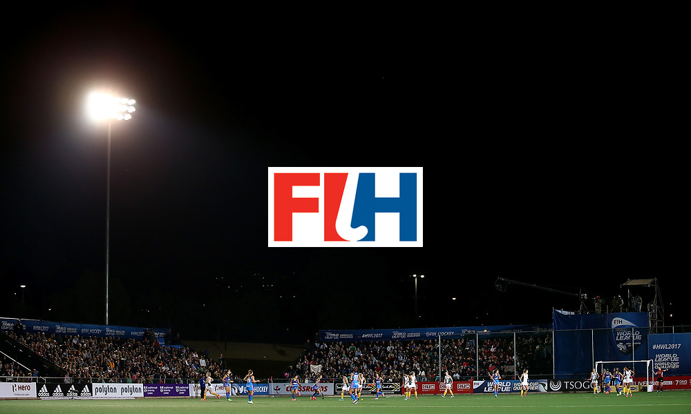 JOHANNESBURG, SOUTH AFRICA - JULY 12:  General view of play during day 3 of the FIH Hockey World League Semi Finals Pool B match between South Africa and Argentina at Wits University on July 12, 2017 in Johannesburg, South Africa.  (Photo by Jan Kruger/Getty Images for FIH)