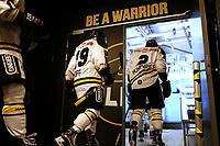 GET-ligaen Ice Hockey, 27. october 2016 ,  Stavanger Oilers v Stjernen<br /> Spillere fra Stavanger Oilers før kampen v Stjernen<br /> Foto: Andrew Halseid Budd , Digitalsport