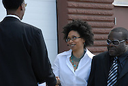 16 August 2008 - Chicago, Illinois - Rachelle Ferrell,.Singer.Bernie Mac Public Memorial.Venue: House of Hope, 752 E 114th St, Chicago, IL, 12pm. Photo Credit: Heather A. Lindquist/Sipa.