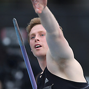 Hamish Peacock, Australia, in action in the Men's Javelin competition during the Diamond League Adidas Grand Prix at Icahn Stadium, Randall's Island, Manhattan, New York, USA. 13th June 2015. Photo Tim Clayton