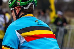 Belgium, Men Juniors, Cyclo-cross World Championship Tabor, Czech Republic, 31 January 2015, Photo by Pim Nijland / PelotonPhotos.com