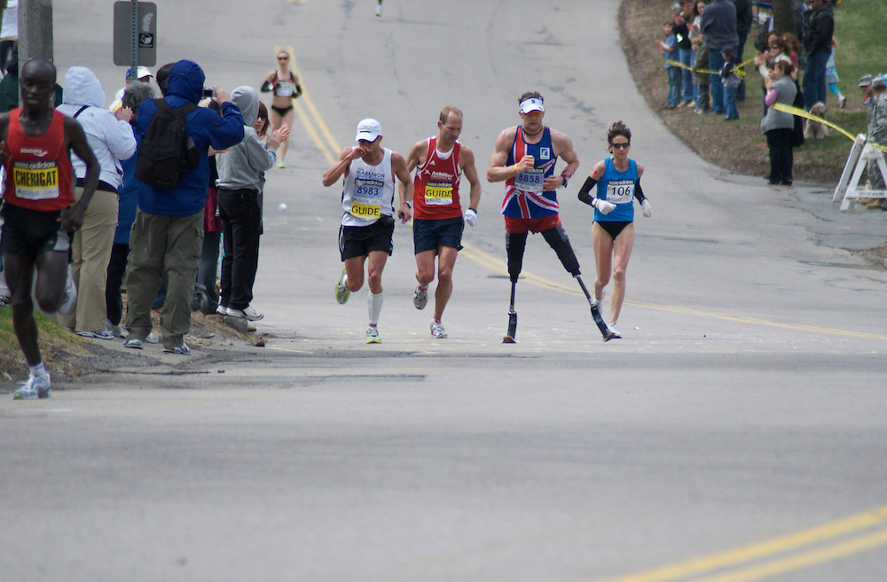 Heartbreak Hill, Boston Marathon.