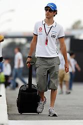 Motorsports / Formula 1: World Championship 2010, GP of Brazil, 21 Bruno Senna (BRA, HRT F1 Team),