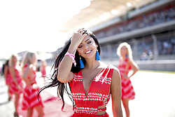October 22, 2017 - Austin, United States of America - Motorsports: FIA Formula One World Championship 2017, Grand Prix of United States, ..grid girls  (Credit Image: © Hoch Zwei via ZUMA Wire)