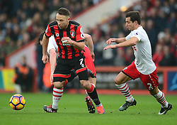 Marc Pugh of Bournemouth - Mandatory by-line: Alex James/JMP - 18/12/2016 - FOOTBALL - Vitality Stadium - Bournemouth, England - Bournemouth v Southampton - Premier League