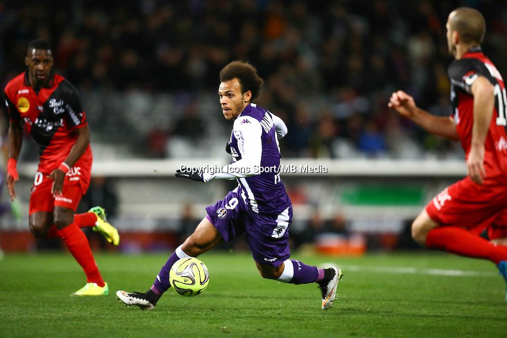 Martin Braithwaite - 20.12.2014 - Toulouse / Guingamp - 19eme journee de Ligue 1 <br /> Photo : Manuel Blondeau / Icon Sport