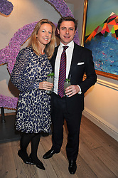 The HON.DANIEL & MRS BRENNAN at a reception to celebrate the publication of Candy and Candy: The Art of Design held at the Halcyon Gallery, 24 Bruton Street, London W1 on 26th October 2011.