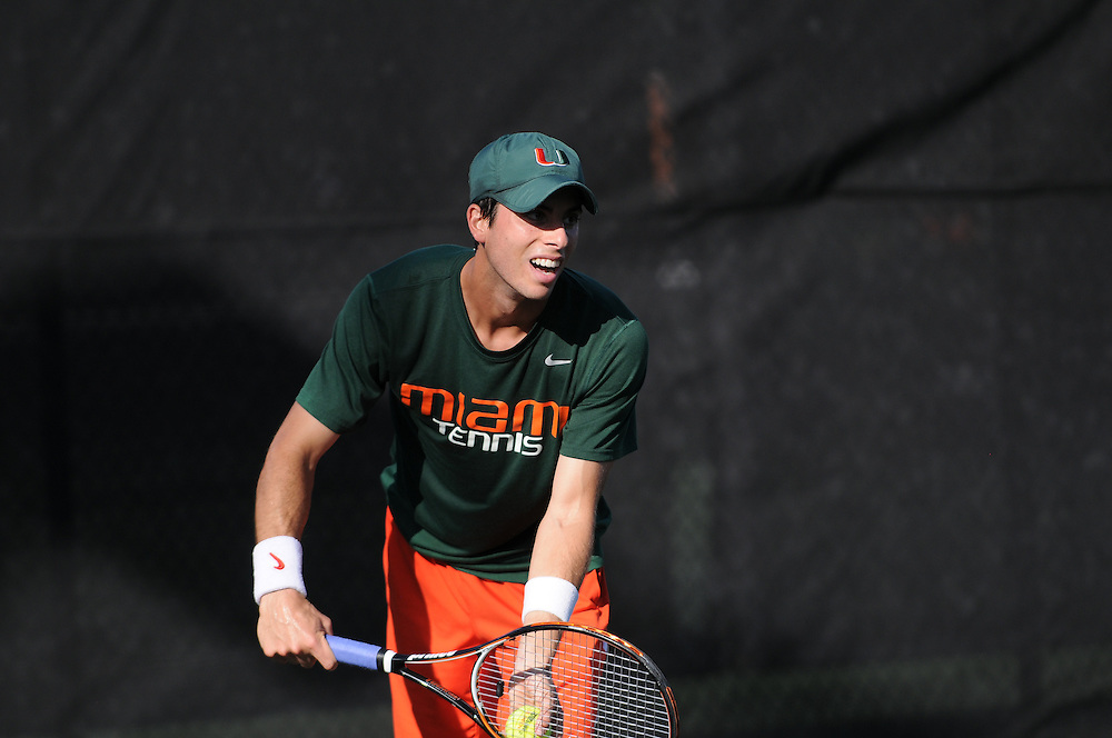 2014 Miami Hurricanes Men's Tennis vs North Florida