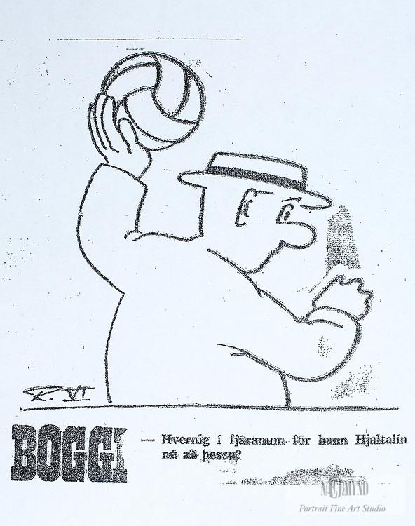 Myndir frá Ólympíuleikunum 1972.Jón Hjaltalín Magnússong