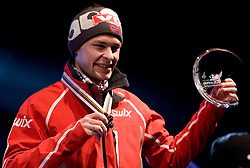 Third placed Anders Jacobsen of Norway during medal ceremony after the Flying Hill Individual  at 3rd day of FIS Ski Flying World Championships Planica 2010, on March 20, 2010, Planica, Slovenia.  (Photo by Vid Ponikvar / Sportida)