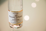 "Yamazaki, November 22 2011 - Suntory whisky distillery in Yamazaki, Japan. The soda bottle used to prepare "" Hig Ball ""."