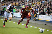 Bradford City midfielder Kyel Reid during the Sky Bet League 1 play-off second leg match between Millwall and Bradford City at The Den, London, England on 20 May 2016. Photo by Nigel Cole.