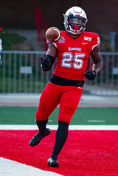 NORMAL, IL - September 07: James Robinson during a college football game between the ISU (Illinois State University) Redbirds and the Morehead State Eagles on September 07 2019 at Hancock Stadium in Normal, IL. (Photo by Alan Look)