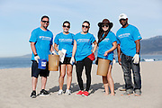 TWC Beach Cleanup with and Heal the Bay at the Santa Monica beach. March 14, 2015 in Santa Monica, Ca. Photo by Joe Kohen